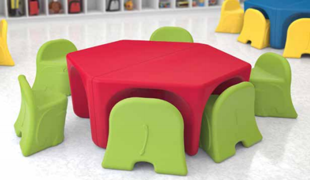 Norix Furniture EL52 Elle Table is great ans can be pared to make any seating arrangement
