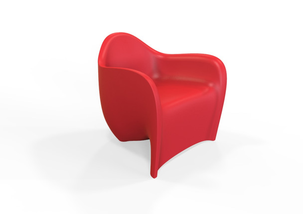 Tenjam 22101BX Session Series Amped Chair  red