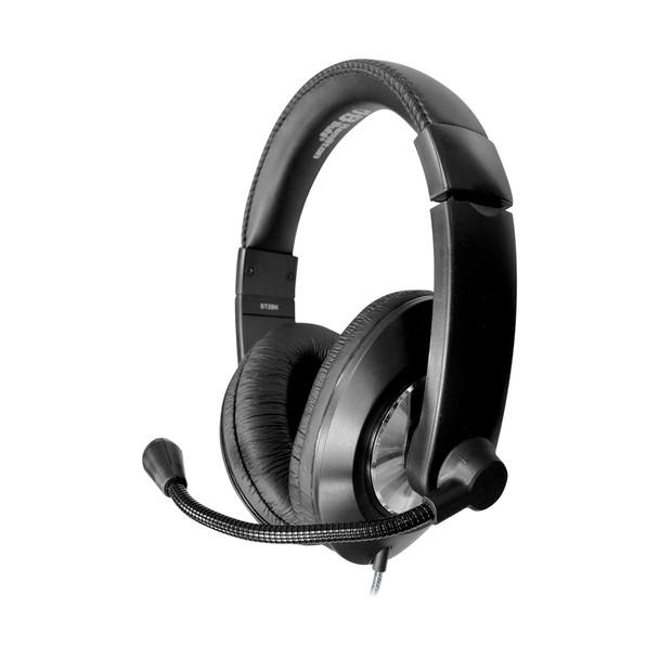 Hamilton Buhl ST2BKU Smart-Trek Deluxe Stereo Headset USB Plug