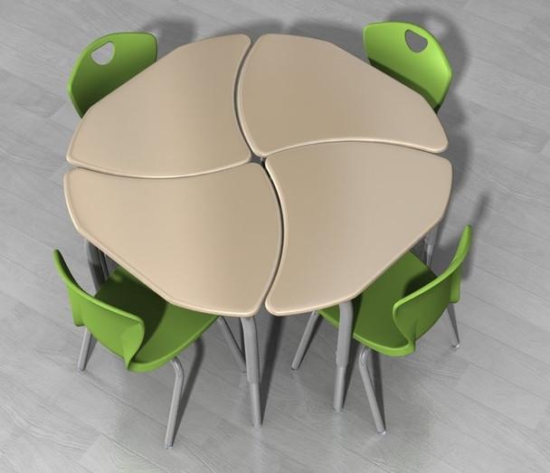 Scholar Craft SC6200 Kaleidoscope Intersect Configuration Desk