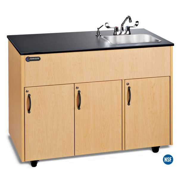 Ozark River ADAV-LM-SS1DN Advantage 1D Portable Hot Water Hand Sink