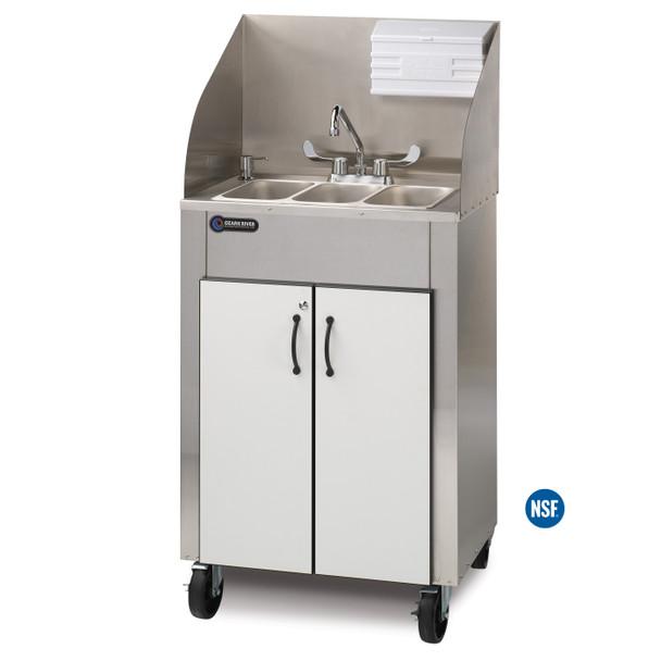 Ozark River ESPR-SS-SS3N Elite Pro 3 Portable Hot Water Hand Sink