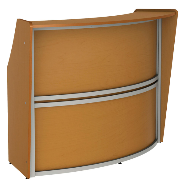 Linea Italia ZU290 Curved Reception Desk 72 W x 32 L