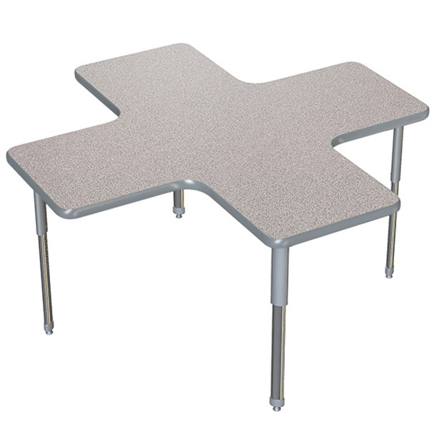 Allied ARO6060CS A+ Activity Table with Colored Vinyl Edge and AERO Legs 60 W x 60 L