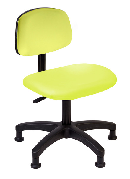 Diversified SE-T2D Desk Tech Chair 18 to 23 inch Adjustable Height Lime Green
