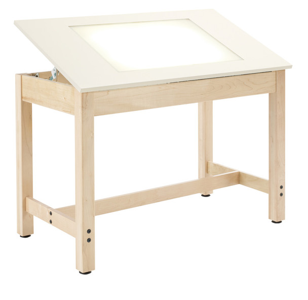 Diversified LT-4424 Light Table with Adjustable Top 44 W x 24 D