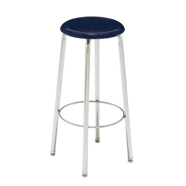 Scholar Craft CD7000 Adjustable Height Solid Plastic Stool 18 inch to 24 inch