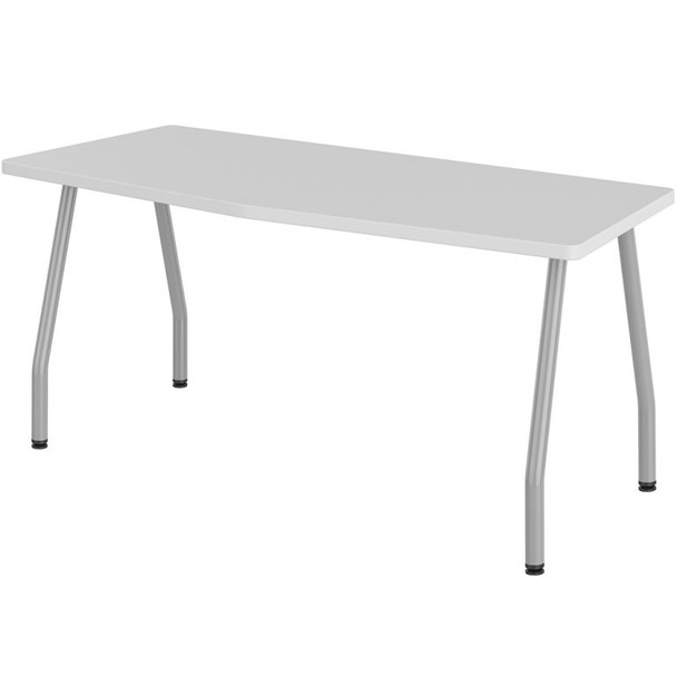 Haskell ECH-3084-CMB Chevron Training Table with Markerboard Work Surface and Echo Base 84 W x 30 D x 29 H with Glides