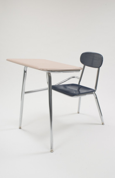 CD5017 Hard Plastic Combination Chair Desk