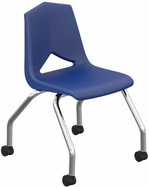 Marco Group Inc MG1141-18 V Back Series Caster Chair 18 Inch Seat Height
