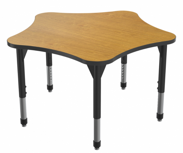 """Marco Group Inc 43-2281-A Adjustable Height Premier Series 5 Star Stand Up Table 60""""W x 60""""L"""