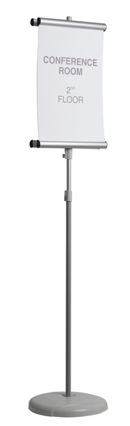 MasterVision SIG03030303 Double Sided Adjustable Sign Stand