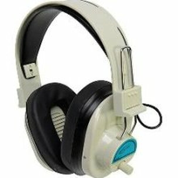 Califone CLS729 Frequency ColorCoded Wireless Headphones Green