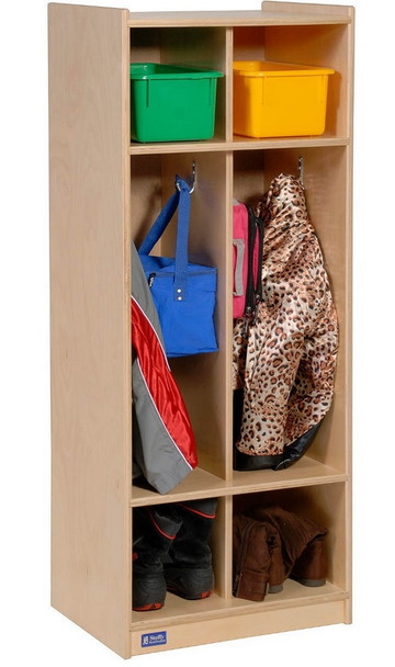 Steffy Wood Products ANG1057-2 Two Section Locker