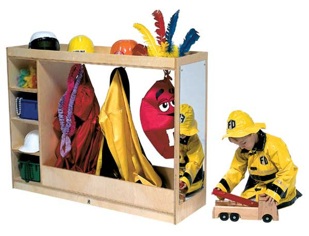 Steffy Wood Products ANG1076 Dress Up Storage Center