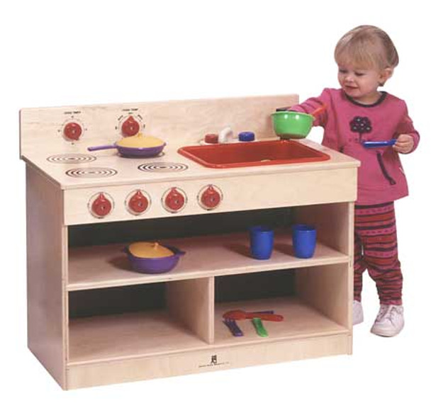 Toddler 2 in 1 Kitchen Center Steffy Wood ANG1092