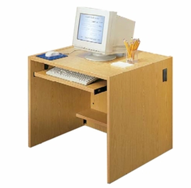 60 inch by 32 inch Desk Shell CD6032 Ironwood Manufacturing