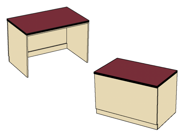 Benchmark Circulation  Desk MediaTechnologies MCD-36D-32