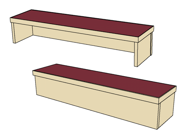 Benchmark Circulation Desk Transition CounterMediaTechnologies MCD-36-TRX