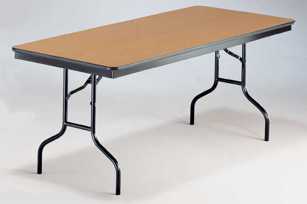 Plywood Core Folding Table Midwest 530EF