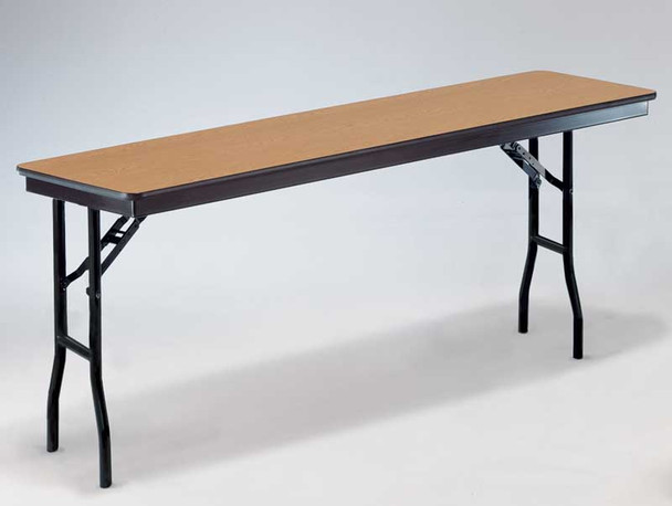 Midwest 824EF Plywood Core 24 x 96 Rectangle Seminar Folding Table