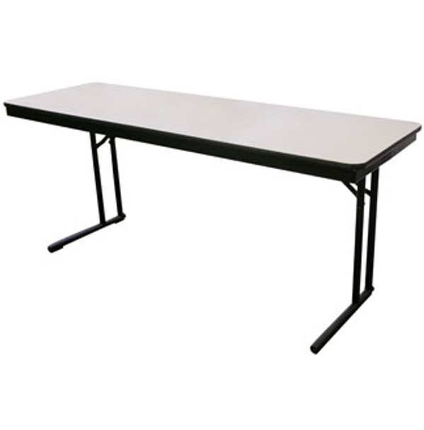 Midwest CP518EF Plywood Core Comfort Leg Seminar Folding Table 18 x 60