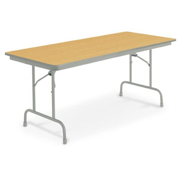 KI Heritage TH8 Fixed Height Folding Table 24 x 96