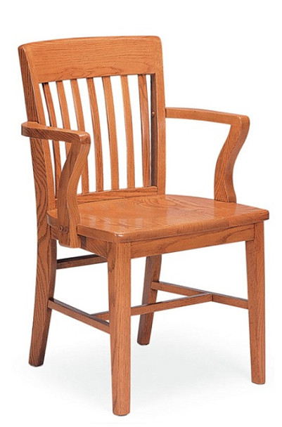 Community 301a Americana All Wood Arm Chair Affordable Wood Chairs