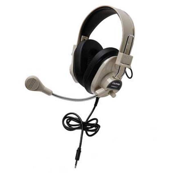 Califone 3066AVT Deluxe Multimedia Headset with To Go Plug
