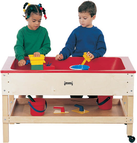 Jonti Craft 2866jc Sensory Table With Shelf 20 Inch Toddler Height