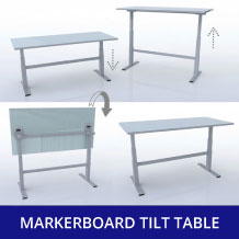 Markerboard Tilt Seating
