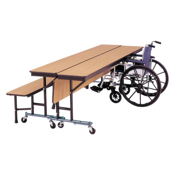 wheelchair accessible cafeteria table