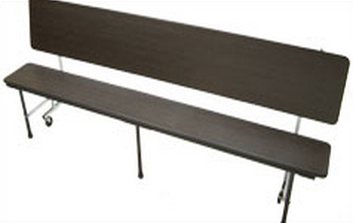 Mitchell Furniture Systems Cb 17 C60 3 In 1 Tablebench With Chrome