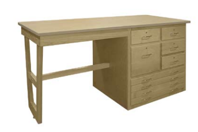 Hann D 631 Multi Purpose Planning Desk 72x30
