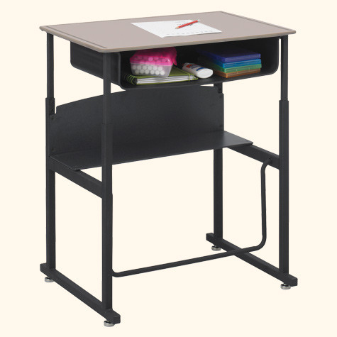 Stand Up Desk >> 1202be Alphabetter Student Stand Up Desk 20 X 28 With Book Box L