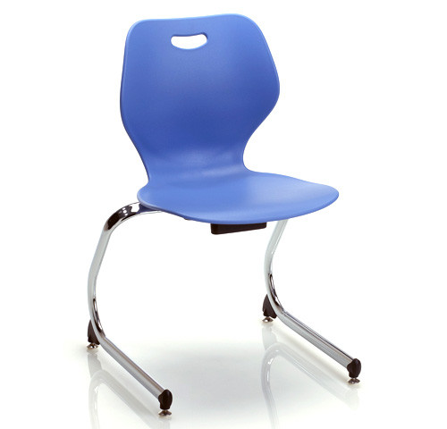 Amazing Ki Intellect Wave Iwc15 Cantilevered Chair 15 Inch Seat Height Bralicious Painted Fabric Chair Ideas Braliciousco