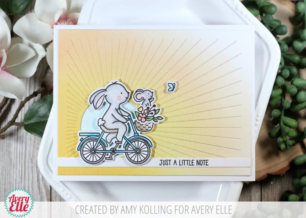 Wheelie Great Clear Stamps & Dies