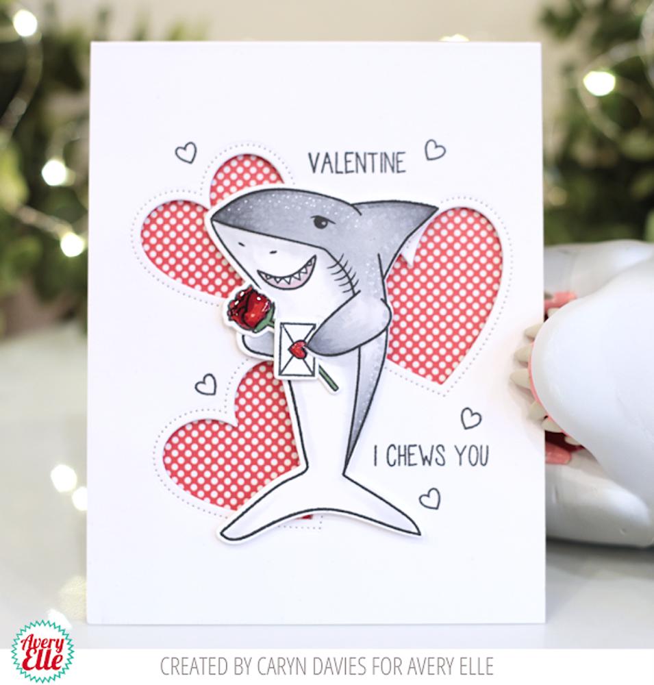 Shark Hugs Clear Stamps & Dies