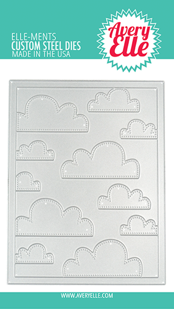 Avery Elle Cloud Mat Die
