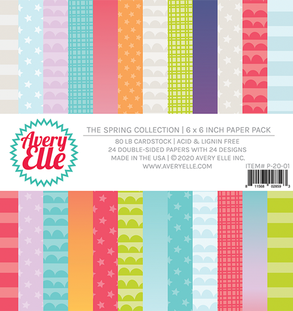 Avery Elle The Spring Collection Paper Pad