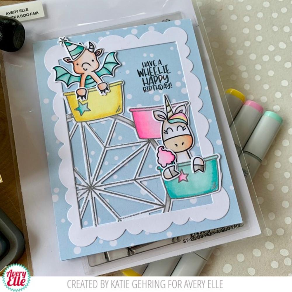 Peek-A-Boo Fair Clear Stamps & Dies