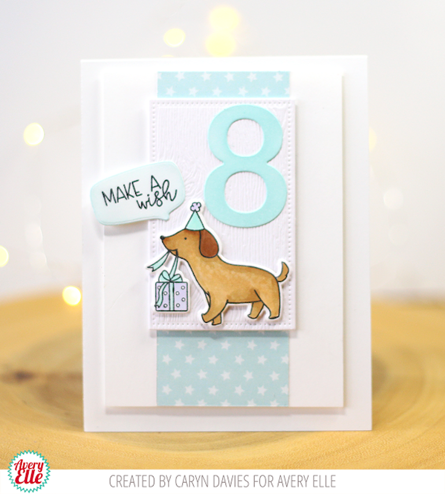 Speech Bubbles Clear Stamps & Dies