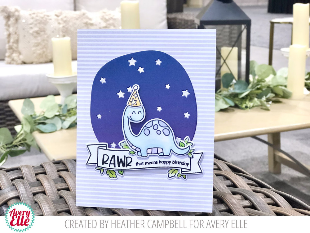 Rawr Clear Stamps & Dies