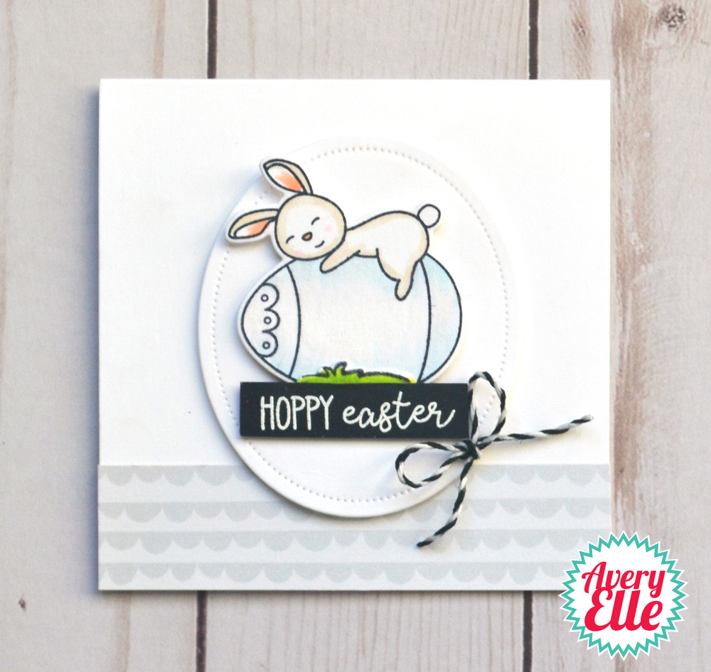 Hoppy Easter Clear Stamps & Dies