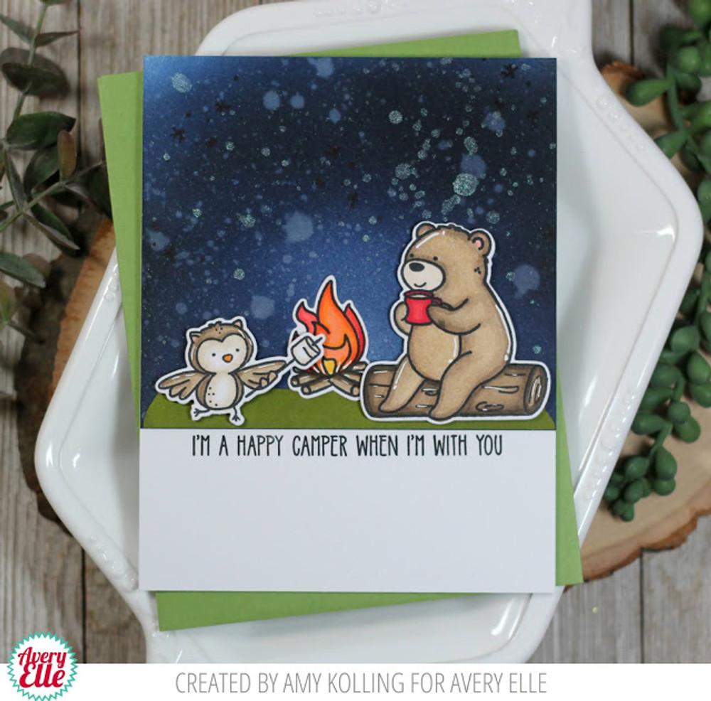 Camping Critters Clear Stamps & Dies