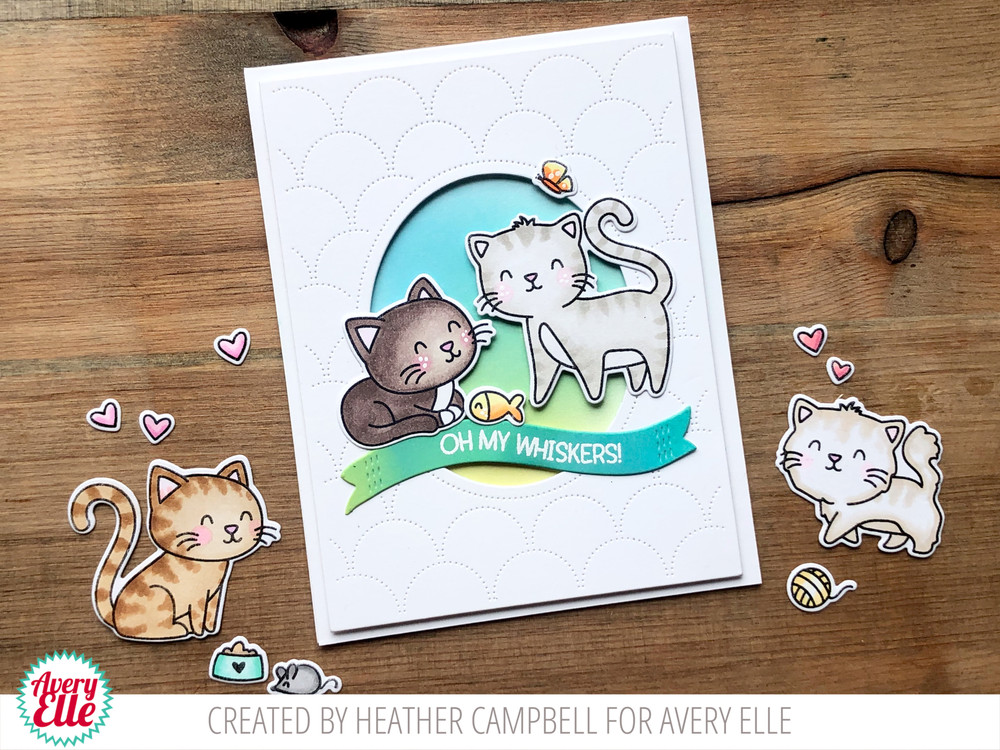 Whiskers Clear Stamps & Dies