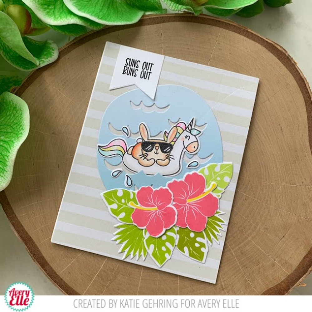 Suns Out Clear Stamps & Dies