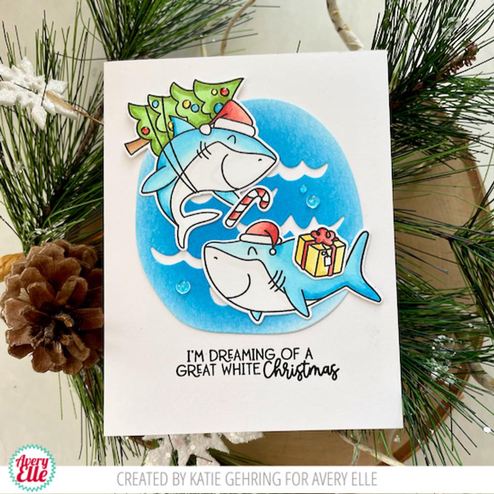 Santa Jaws Clear Stamps & Dies