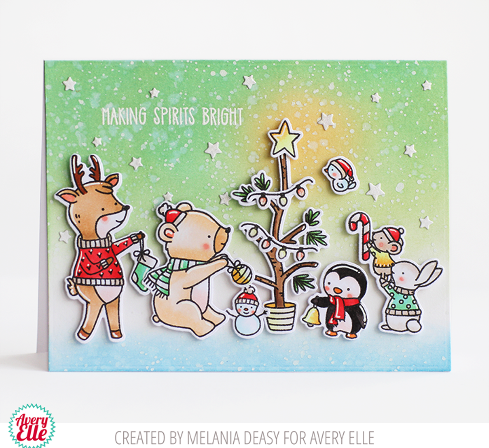 O Tiny Tree Clear Stamps & Dies
