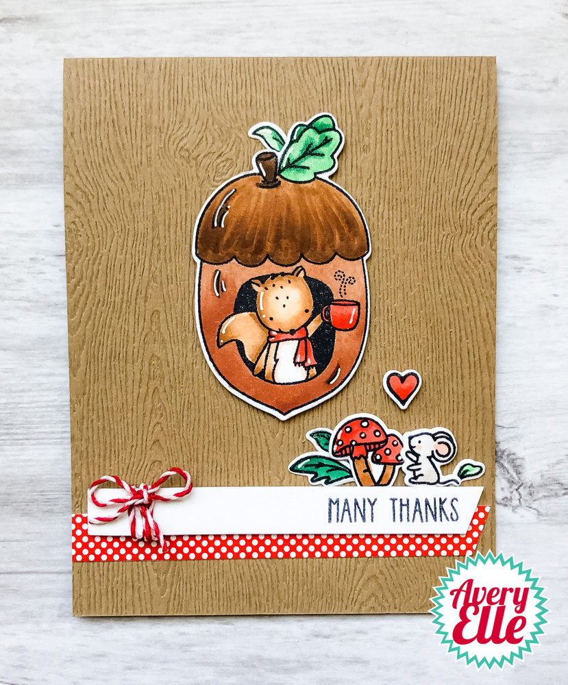 Aw, Nuts Clear Stamps & Dies